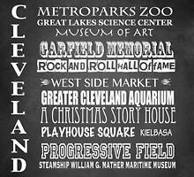 Cleveland Ohio Famous Landmarks by Patricia Lintner