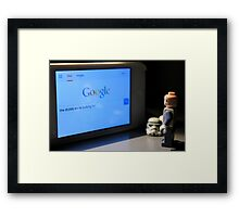 Droid Search Framed Print