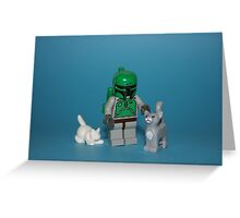 Fett's Pets Greeting Card