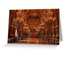 Christmas in the Opera House Greeting Card