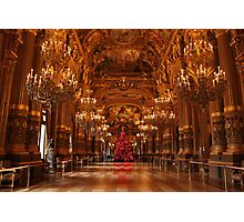 Christmas in the Opera House Photographic Print