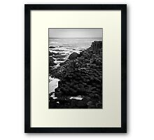 Giant's Causeway Northern Ireland Framed Print