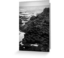 Giant's Causeway Northern Ireland Greeting Card
