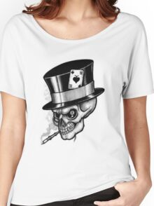 Scary Skull Women's Relaxed Fit T-Shirt