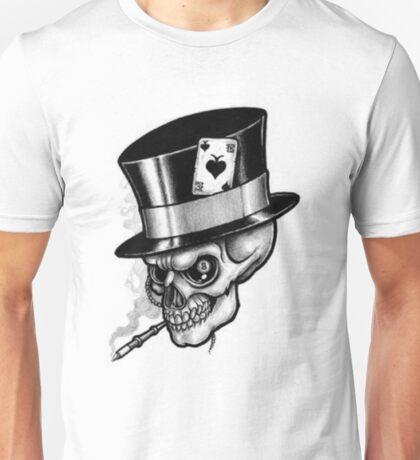 Scary Skull Unisex T-Shirt