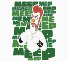 Meep Fella (Sticker) by thom2maro