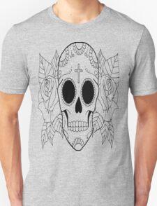 Fashion Skull with cross T-Shirt