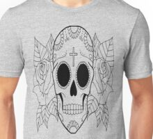 Fashion Skull with cross Unisex T-Shirt