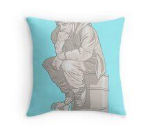 Thinkin' Pinkman Throw Pillow