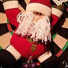 Santa's hanging by Jan Carlton