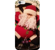 Santa's hanging iPhone Case/Skin