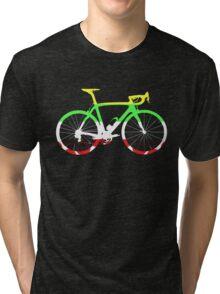 Bike Tour de France Jerseys (Horizontal) (Big)  Tri-blend T-Shirt