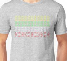 Bike Tour de France Jerseys (Horizontal) (Small) Unisex T-Shirt