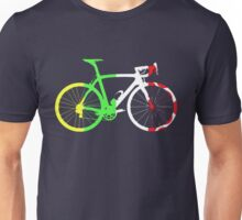 Bike Tour de France Jerseys (Vertical) (Big)  Unisex T-Shirt