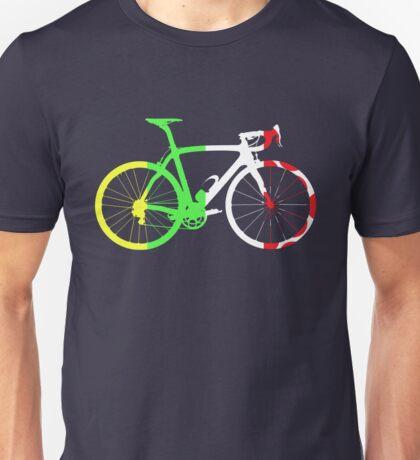 Bike Tour de France Jerseys (Vertical) (Big)  Unisex T-Shirt