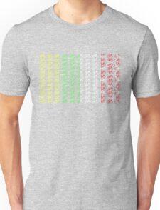 Bike Tour de France Jerseys (Vertical) (Small) Unisex T-Shirt