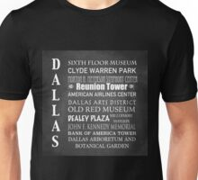 Dallas Famous Landmarks Unisex T-Shirt