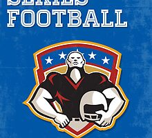 American Football National Series Poster Art by patrimonio