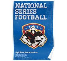 American Football National Series Poster Art Poster
