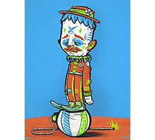 CLOWN FROWN (POSTER) Photographic Print