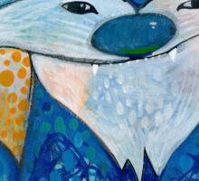 The Blue Fox Sticker
