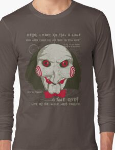 Time to Play !  Long Sleeve T-Shirt