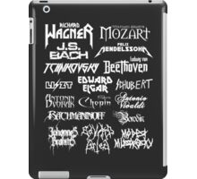 Heavy Metal-style Classical Composers iPad Case/Skin