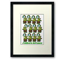 green Army Framed Print