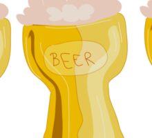 beer beer beer good Sticker
