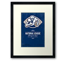 American Football National League Championship Poster  Framed Print