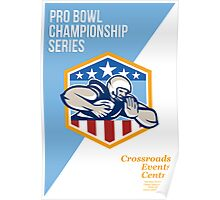 American Pro Football Championship Poster Poster