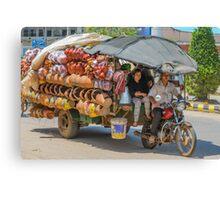 Travelling Salesman Canvas Print