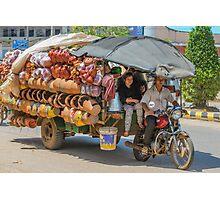 Travelling Salesman Photographic Print
