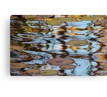 Lilies at the Bottom of the Garden Canvas Print