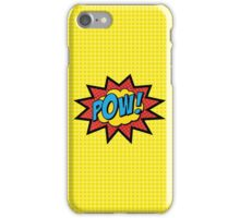 POW!!  iPhone Case/Skin