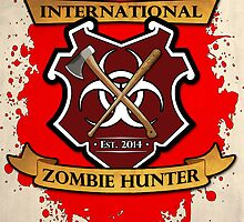 Zombie Hunter Logo by Nicklas81