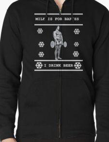 Milk is for Babies - Arnold Schwarzenegger - Christmas T-Shirt