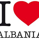 I ♥ ALBANIA by eyesblau