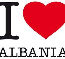 I ♥ ALBANIA by eyesblau