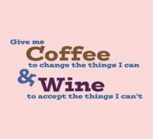 Coffee & Wine Serenity prayer by Jeff Newell
