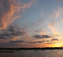 Sunset - Great Kills Harbor 1 by MBoothny