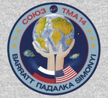 Russian Mission Patch- Soyuz TMA 14 by cadellin