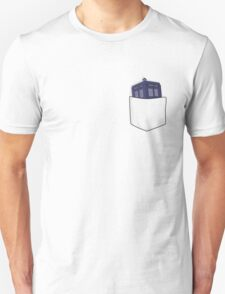 Pocket Protector - Tardis T-Shirt