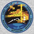 Russian Mission Patch- Soyuz TMA 19 by cadellin