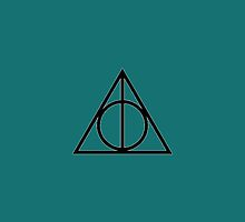 Deathly Hallows Phone Case by Ensore Industries