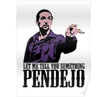 Jesus The Big Lebowski T shirt Let Me Tell You Something Pendejo Color Tshirt Poster
