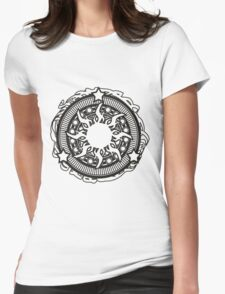 Stylish Abstract design  Womens Fitted T-Shirt