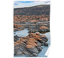 Ice and Granite Dells at Prescott Arizona Poster