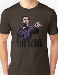 Jesus The Big Lebowski T shirt I see You Rolled Your Way Tshirt Unisex T-Shirt