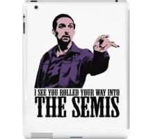 Jesus The Big Lebowski T shirt I see You Rolled Your Way Tshirt iPad Case/Skin